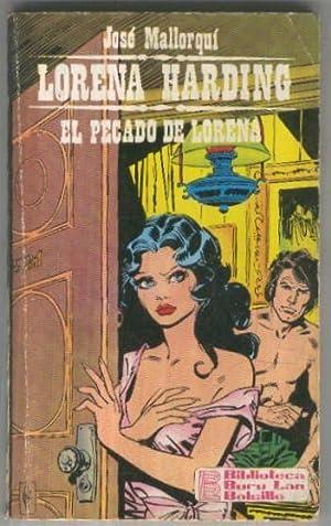 Lorena Harding numero 07: El pecado de: Jose Mallorqui