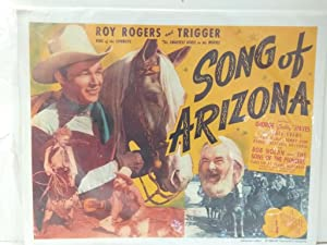 Poster Cine: ROY ROGERS - SONG OF ARIZONA (1996)