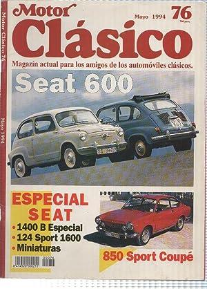 Motor Clasico numero 76: Seat 600: Varios
