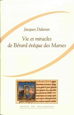 Vie et Miracles de Bérard évêque des Marses. Introduction, édition ...