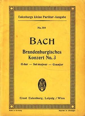 Brandenburgisches Konzert No. 3, G dur für: Bach / Arnold