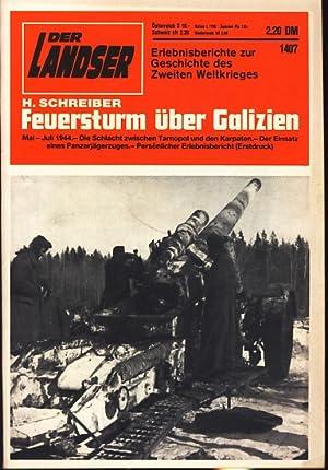 Der Landser : Heft 1407 März 1985: H. Schreiber :