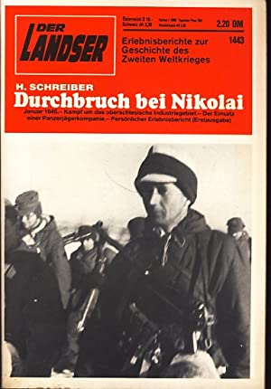 Der Landser : Heft 1443 November 1985: H. Schreiber :