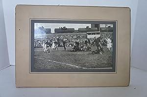 Six Large 1930's Football Photographs - Malden, Mass.: Unk.