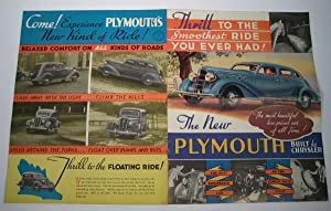 The New Plymouth. Thrill to the Smoothest Ride You Ever Had !