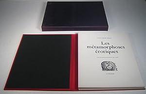Les Métamorphoses érotiques. Choix de dessins exécutés: Dali, Salvador