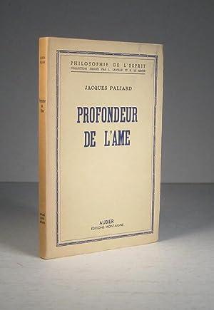 Profondeur de l'âme: Paliard, Jacques