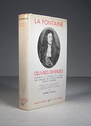 Oeuvres complètes II (2). Oeuvres diverses