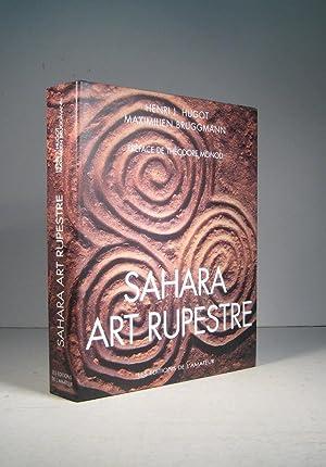 Sahara. Art rupestre: Hugot, Henri J.