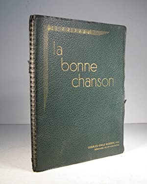 La Bonne Chanson. Troisième album. 101 à: La Bonne Chanson