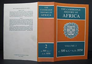The Cambridge History of Africa. Volume 2 : From c. 500 BC to AD 1050