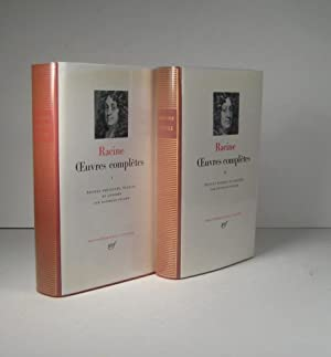 Oeuvres complètes. I (1) : Théâtre, poésies. II (2) : Prose. 2 volumes