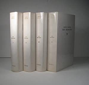 Mes Mémoires. 4 Volumes