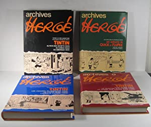 Archives Hergé. 4 Volumes