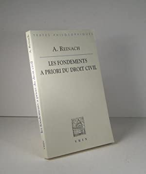 Les fondements à priori du droit civil