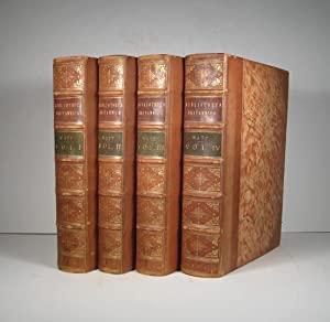 Bibliotheca Britannica; or A General Index to British and Foreign Literature. 4 Volumes