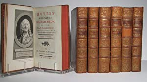 Oeuvres complettes (complètes) d'Alexis Piron. 7 Volumes
