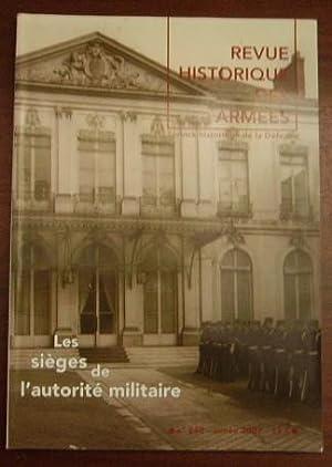 Les sièges de l'autorité militaire. L'îlot Saint-Germain: COLLECTIF