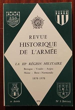 La IIIe région militaire Bretagne Vendée Anjou: COLLECTIF