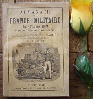 Almanach de la france militaire pour l'année: REYBET J.