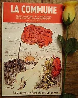 La commune, au temps de la commune: BRUHAT Jean, MOURIAUX