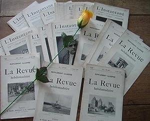 L'instantané, supplément illustré de la revue hebdomadaire,: CHARCOT J-M, HEREDIA