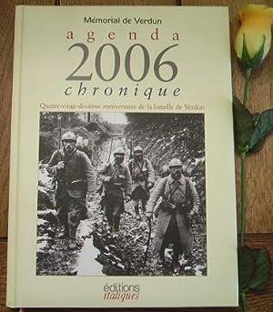 Agenda 2006 chronique. Quatre-vingt-dixième anniversaire de la: MASSERET Jean-Pierre, NAMY