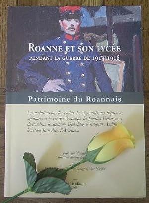 Roanne et son lycée pendant la guerre: NOMADE Jean-Paul