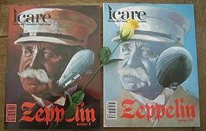 Zeppelin, 2 volumes. Icare, revue de l'aviation française, n° 135 et 137: COLLECTIF