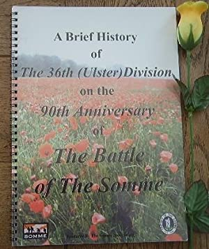 A brief history of the 36th (Ulster): COLLECTIF