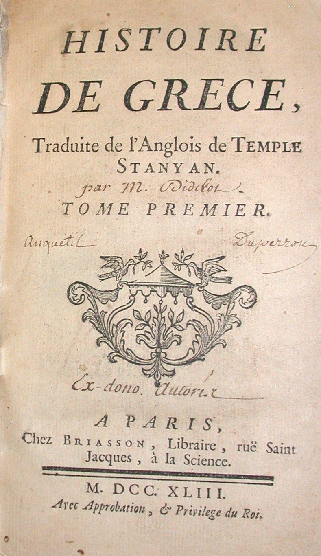 Anglois histoire de grèce, traduite de l'anglois de
