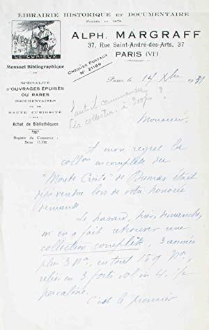 Le Monte-Cristo, journal hebdomadaire de romans, d'histoire,: DUMAS (Alexandre);