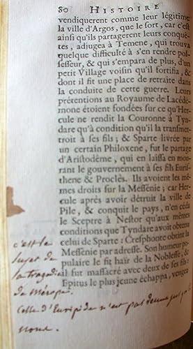 Histoire de Grèce, traduite de l'Anglois de Temple Stanyan.: DIDEROT (Denis) & STANYAN (...