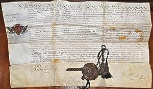 Lettres de Noblesse pour Jean-Jacques Batigand, le 5 janvier 1756 par Stanislas, Roy de Pologne.: ...