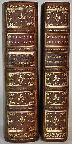 Nouveaux Mélanges philosophiques, historiques, critiques, etc., etc.: VOLTAIRE (François-Marie Arouet
