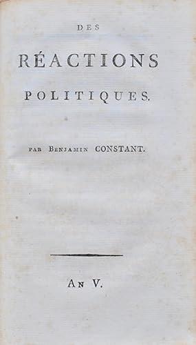 Premiers opuscules politiques]. De la Force du Gouvernement Actuel de la France et de la Né...