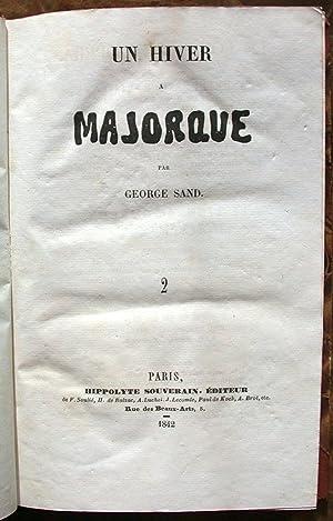Un Hiver à Majorque.: SAND (George);