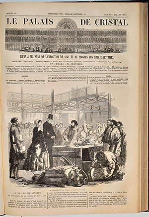 Palais de Cristal (le). Journal illustré de l'exposition de 1851 et des progrès ...