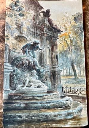 Fontaine Médicis.: FRANC-LAMY (Pierre);