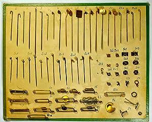 Modèle d'éléments pour broches et épingles.