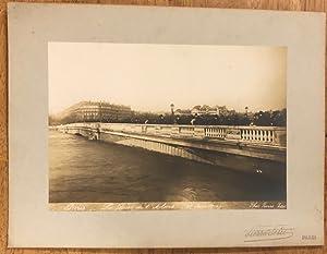 Inondations de Paris.: PETIT (Pierre);