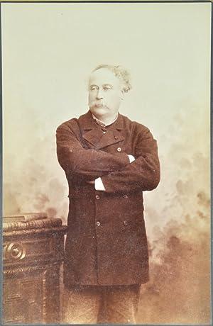 Collection de 8 portraits photographiques d'Alexandre Dumas: DUMAS Fils (Alexandre);