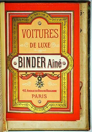 Brochures et Catalogues]. Recueil de Brochures et Catalogues publicitaires fin XIXe siècle.