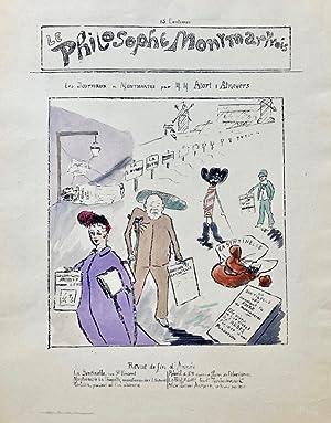 Montmartre]. Le Philosophe Montmartrois. Organe du groupe Philosophique Aubout du fossé la ...