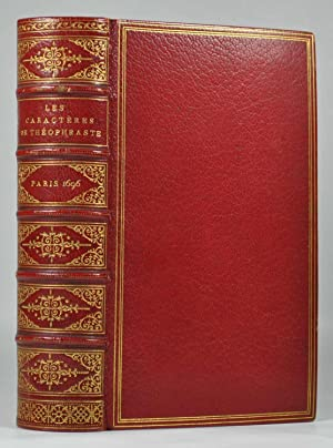 Les Caractères de Théophraste traduits du Grec: LA BRUYERE (Jean