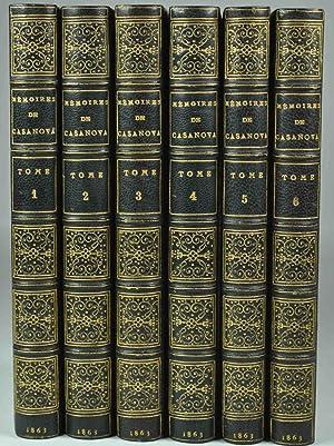 Mémoires de Jacques Casanova de Seingalt, écrits par lui-même.: CASANOVA DE ...