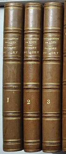 Exposition de l'Industrie Française en 1839. Rapport du Jury Central.