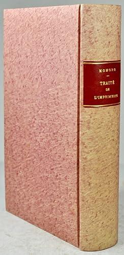 Traité élémentaire de l'imprimerie, ou le Manuel de l'Imprimeur ; ...