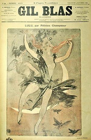 Gil Blas. Hebdomadaire Illustré.