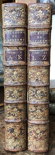 Dictionnaire de l'Académie française. Quatrième édition.